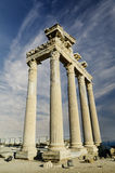 Temple of Apollo in Side Royalty Free Stock Photo