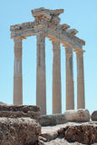 Temple of Apollo in Side, Turkey Royalty Free Stock Photography