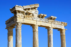 Temple of Apollo in Side, Turkey. Temple of Apollo in Side Antalya, Turkey Royalty Free Stock Photos