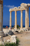 The Temple of Apollo in Side. Turkey. Royalty Free Stock Image