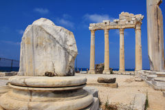 The Temple of Apollo in Side. Turkey. Royalty Free Stock Photo