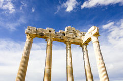 The Temple of Apollo in Turkey. Ancient Turkey Stock Image