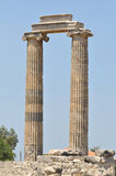 Temple of Apollon stock images