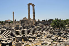 Temple of Apollon royalty free stock photo