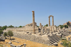 Temple of Apollon royalty free stock photography
