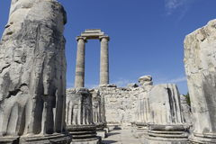 Temple of Apollon - Didyma / Turkey stock photo