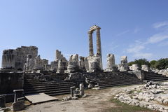 Temple of Apollon - Didyma / Turkey royalty free stock photography