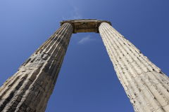 Temple of Apollon - Didyma / Turkey stock image