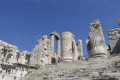 Temple of Apollon - Didyma / Turkey Royalty Free Stock Images