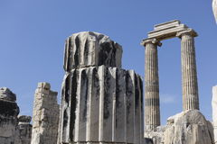 Temple of Apollon - Didyma / Turkey Stock Photo