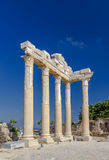Temple of Apollon, Side, Turkey. Ruins of ancient temple of Apollon, Side, Turkey Stock Image