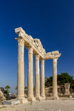 Temple of Apollon, Side, Turkey. Ruins of ancient temple of Apollon, Side, Turkey Stock Photography