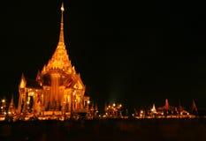 Temple après coucher du soleil photo libre de droits