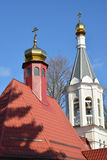 The temple of the Archangel Gabriel in Kaliningrad.  Stock Photos