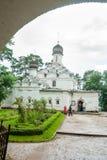 Temple of Archangel Michael the Archangelskoye in Russia Stock Image