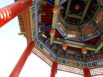 Temple architecture details Royalty Free Stock Photography