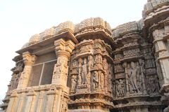 Temple architecture of India Stock Photo