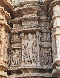 Temple architecture of India Stock Image