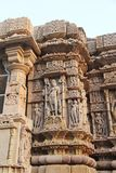 Temple architecture of India Stock Photography