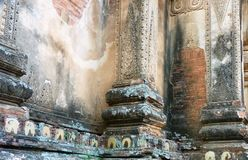 Temple architecture in Myanmar (Burma) Stock Photo