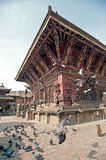 Temple architecture, Nepal Stock Photography