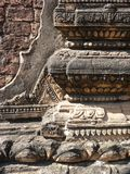 Temple architecture and stone work in Myanmar (Burma) Stock Photography