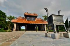 The temple area. Tomb of Tu Duc. Hué. Vietnam Stock Photo