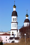 Temple Arkhangelsk. Cathedral christianity  Russia Arkhangelsk Temple Royalty Free Stock Photos