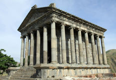 The Temple in Armenia stock photo