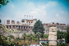 Temple of Artemis Royalty Free Stock Image