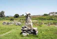 The Temple of Artemis at Ephesus Stock Photo