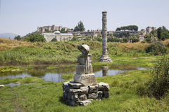 Temple of Artemis Royalty Free Stock Photography