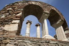 The Temple of Artemis, Sardes . Manisa - Turkey. The Temple of Artemis, Sardes Ancient City. Manisa - Turkey Stock Photography