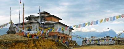 Temple in Arunachal Pradesh Royalty Free Stock Image