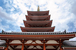 Temple asakusa Stock Photo