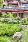 Temple asiatique Image libre de droits