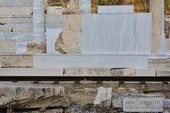 Temple of Asklepios Stock Photography