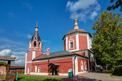 Temple of the Assumption of the Blessed Virgin Mary. Suzdal. Rus Royalty Free Stock Photography