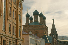 Temple of the Assumption in Krutitsy Royalty Free Stock Photography