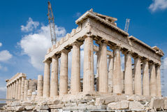 The Temple of Athena Royalty Free Stock Photography