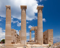 Temple of Athena Stock Photo