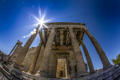 Temple of Athena Royalty Free Stock Images