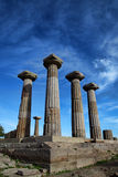 Temple of Athena in Assos Royalty Free Stock Photography