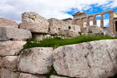 Temple of Athena Stock Image