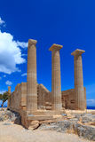 Temple of Athena Royalty Free Stock Photo