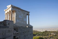Temple of Athena Nike Royalty Free Stock Image