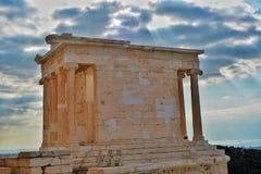Temple of Athena Nike Royalty Free Stock Photo
