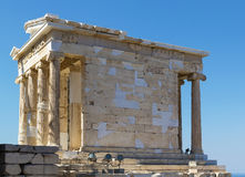 Temple of Athena Nike, Athens Royalty Free Stock Photos
