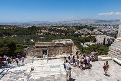 Temple of Athena Nike Athens Greece Royalty Free Stock Images