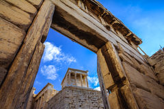 Temple of Athena Nike Stock Images